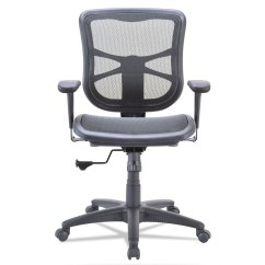 Alera Elusion Chair Vintage Barber Series Air Mesh Mid Back Swivel Tilt