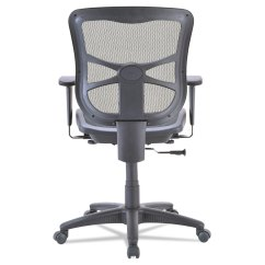 Alera Elusion Chair Folding Chairs Wooden Series Air Mesh Mid Back Swivel Tilt