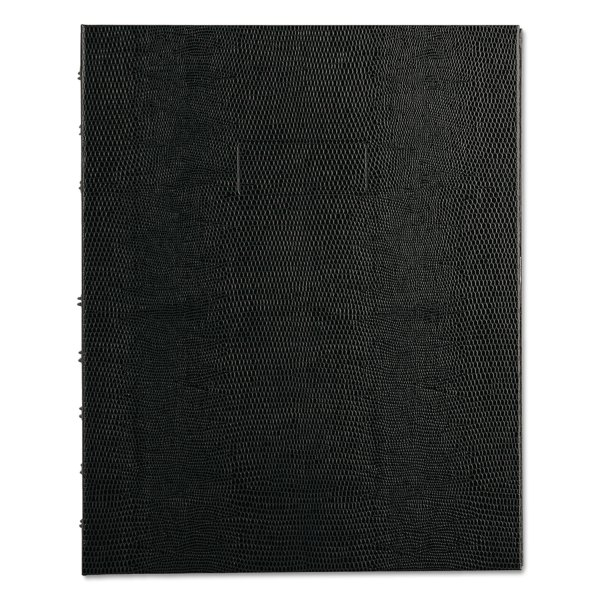 Notepro Notebook Narrow Rule Black Cover 9 1 4 X 7