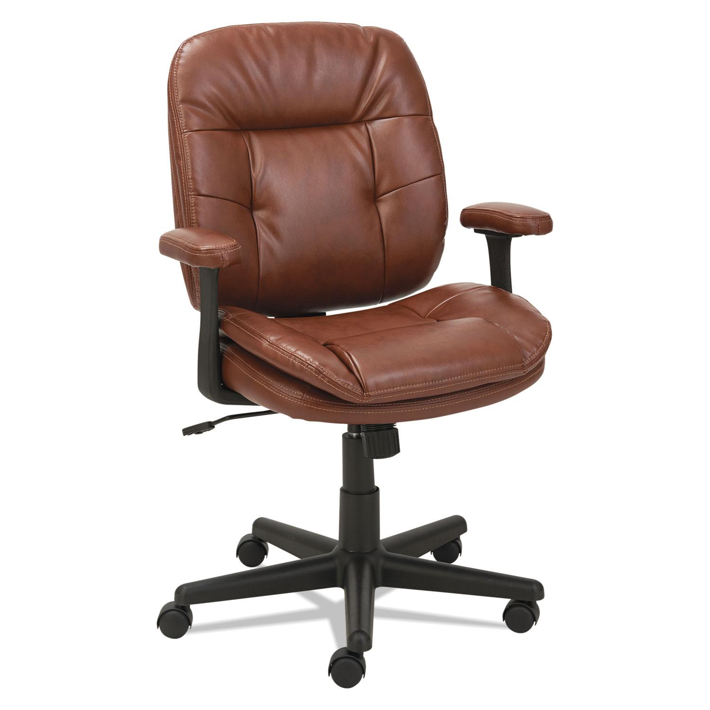 Swivel/Tilt Leather Task Chair by OIF OIFST4859