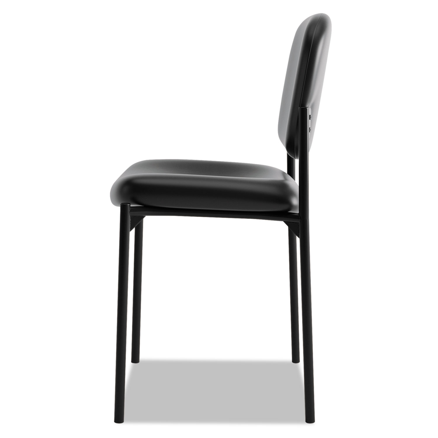 staples stacking chairs amish 3 in 1 highchair plans vl606 series armless guest chair by hon