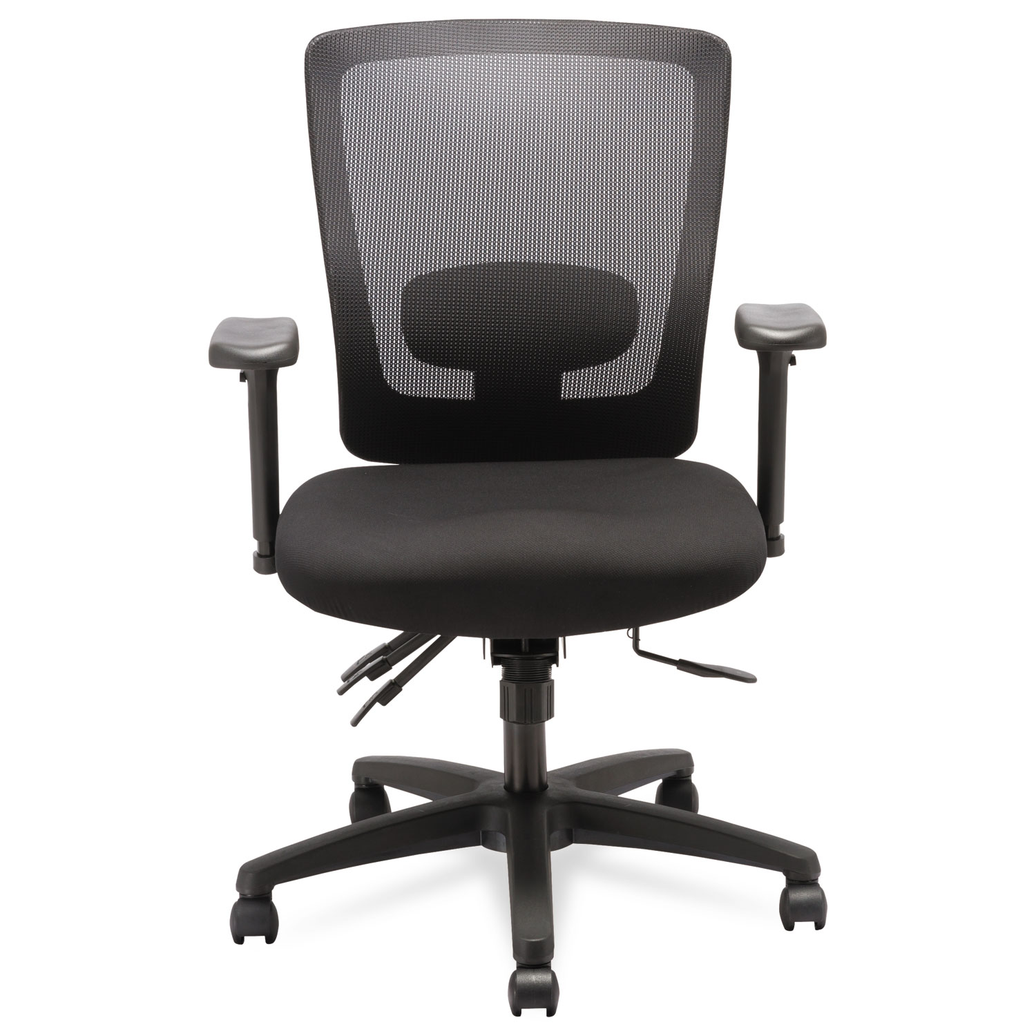 alera office chairs review teal lounge chair envy series mesh mid back multifunction by