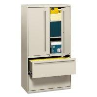 HON785LSQ HON 700 Series Lateral File w/Storage Cabinet - Zuma