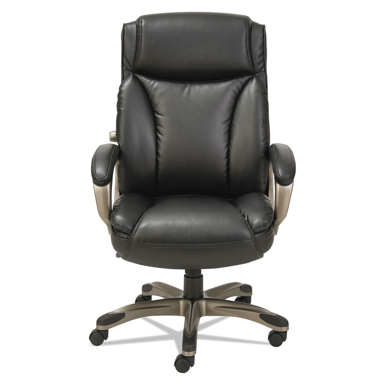 alera office chair kitchen fabric veon series executive highback leather by