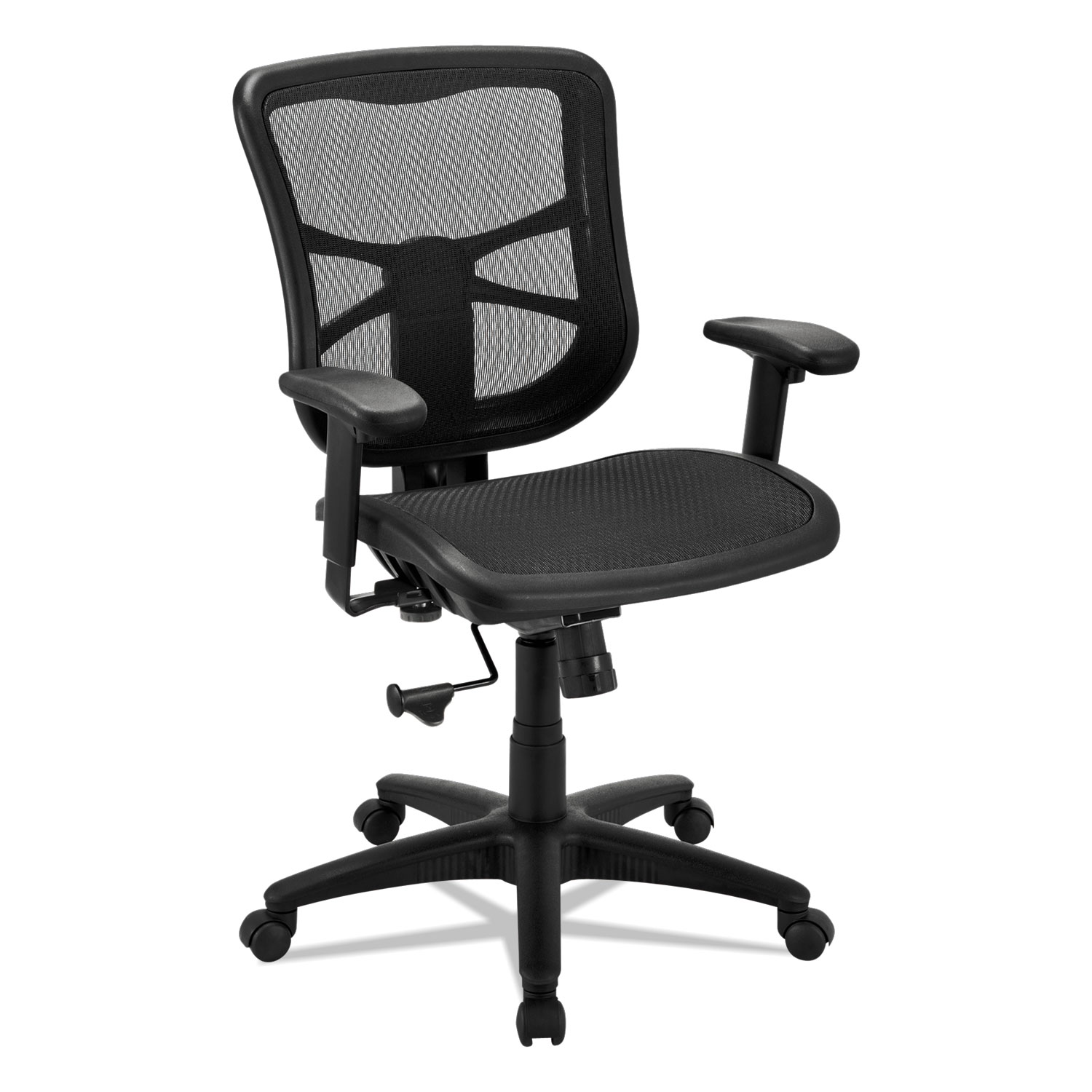 Alera Chair Alera Elusion Series Air Mesh Mid Back Swivel Tilt Chair