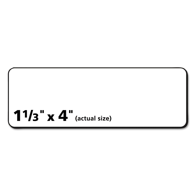 AVERY-DENNISON Easy Peel Mailing Address Labels, Laser, 1