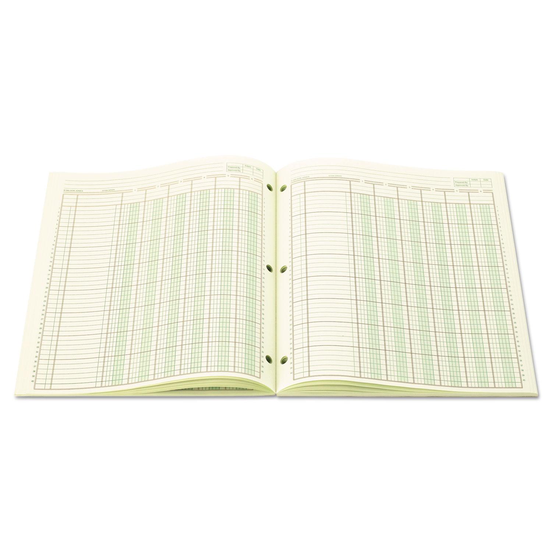 Accounting Pad Six Unit Columns 8 1 2 X 11 50 Sheet Pad