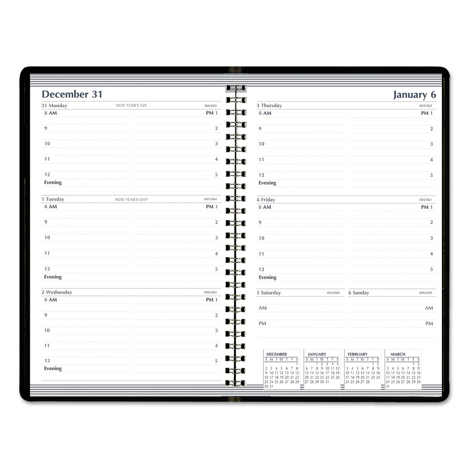 Weekly Appointment Planner by AbilityOne® NSN6007610