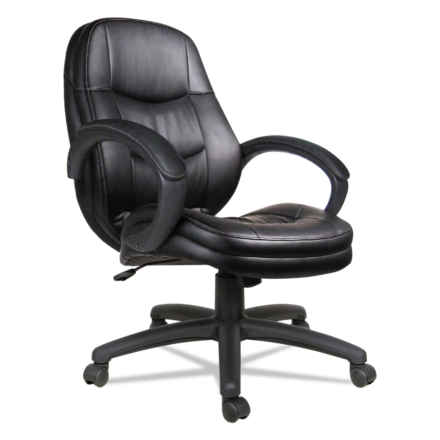 alera office chairs review room swing chair pf series mid back leather by