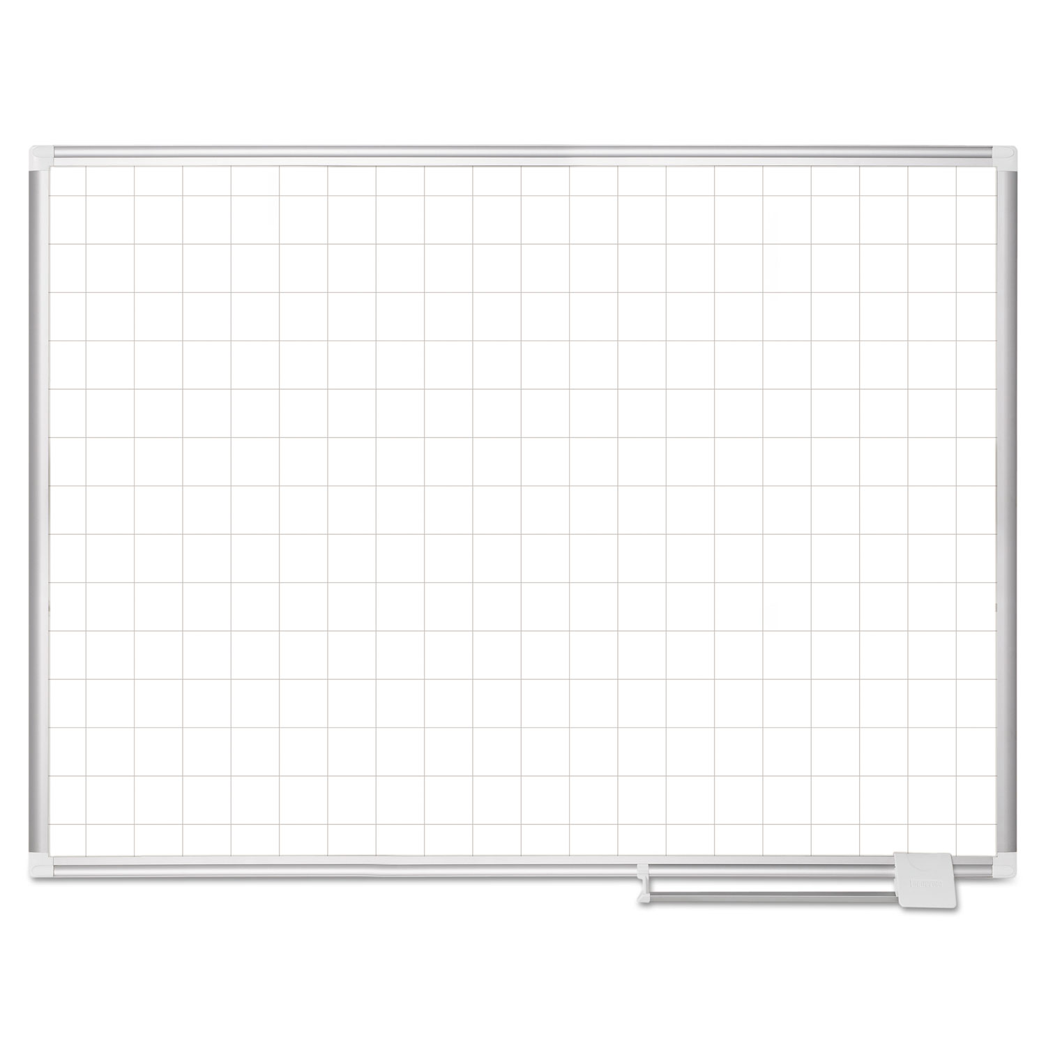 Platinum Plus Magnetic Porcelain Dry Erase Board, 2 x 2