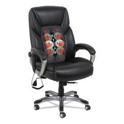 Alera Office Chairs Review Chair Cover Rentals Durham Shiatsu Heated Massage By Alera® Alesh7119 | Ontimesupplies.com