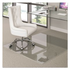 High Chair Floor Mat Nz French Louis Premium Glass By Deflecto Defcmg70434860