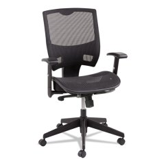 Alera Office Chairs Review Rustic Desk Chair No Wheels Epoch Series All Mesh Multifunction Mid Back