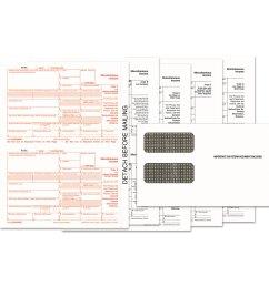 1099 misc tax form kits 8 x 5 1 2 5  [ 1500 x 1500 Pixel ]