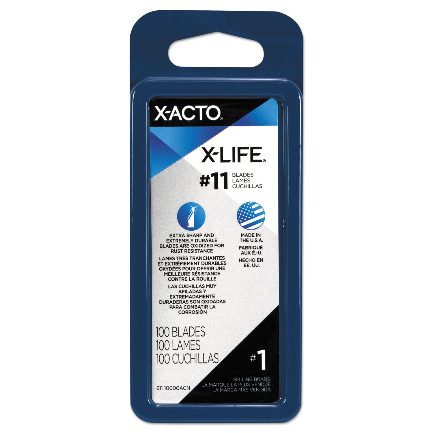 Epix611 X Acto No 11 Bulk Pack Blades For X Acto Knives