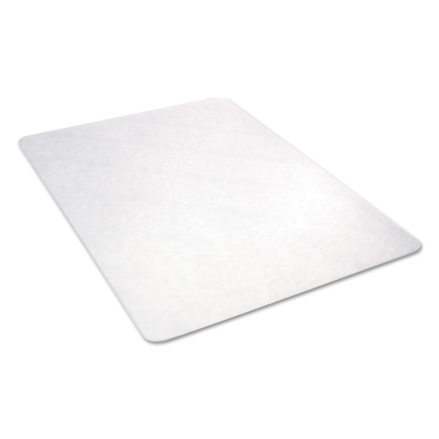 office chair mat 36 x 60 white rocker all day use non studded for hard floors by alera