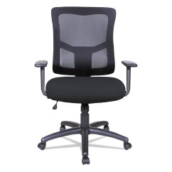 Alera Elusion Chair Cesca Replacement Seats Uk Ii Series Mesh Mid Back Swivel Tilt W