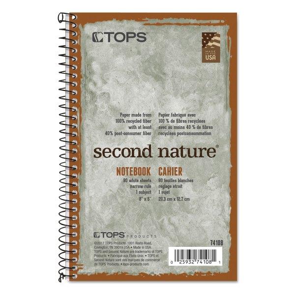 Top74108 Tops Nature Subject Wirebound Notebook - Zuma