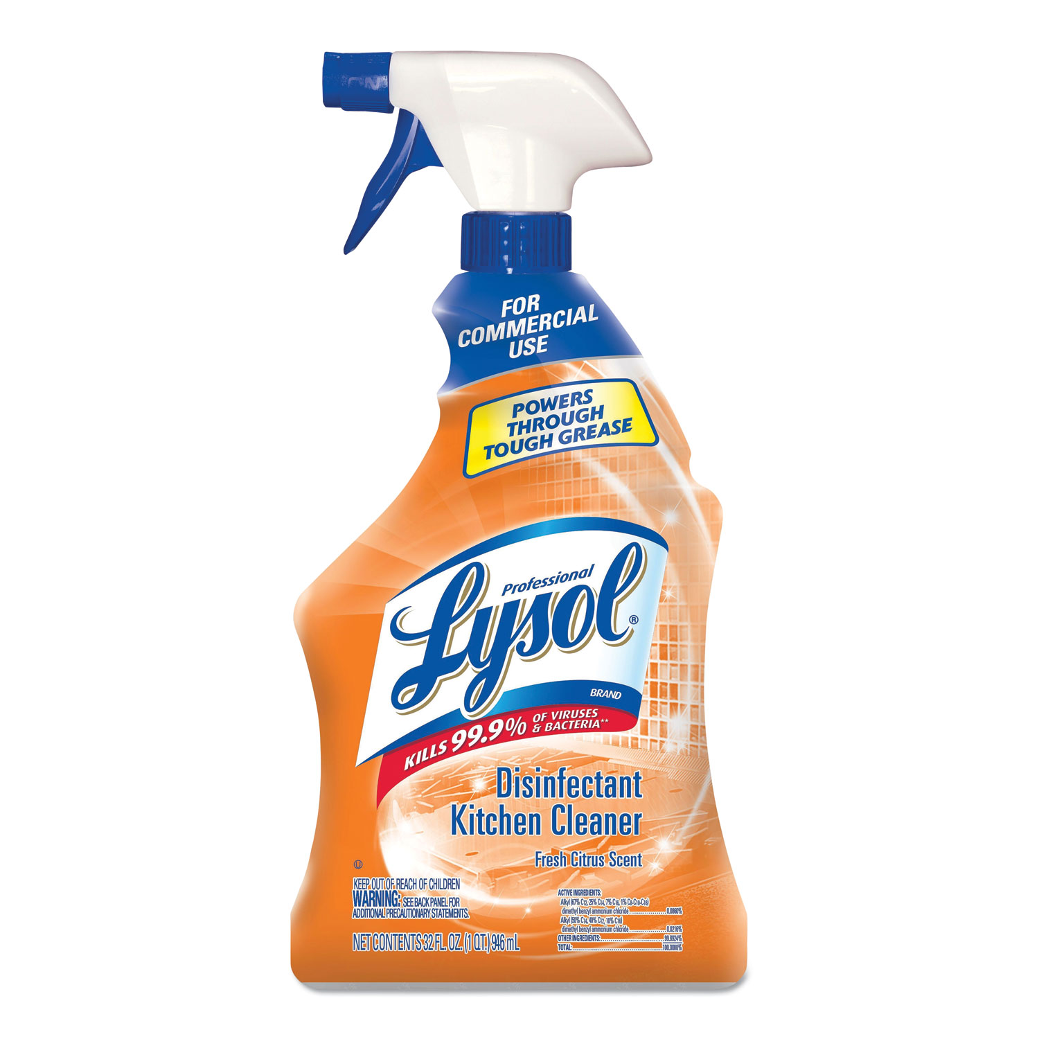 lysol antibacterial kitchen cleaner single basin sink by professional brand
