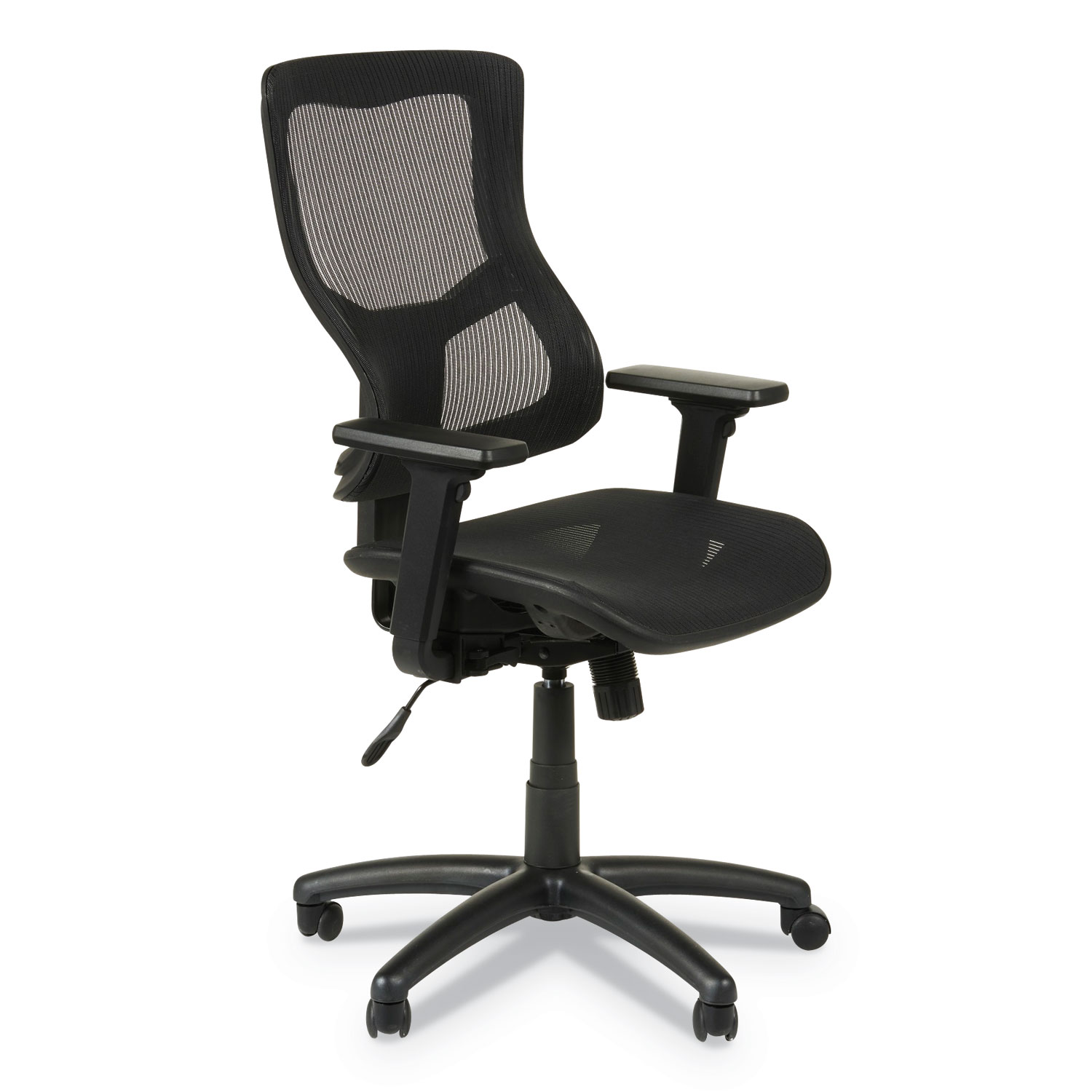 Alera Office Chairs Alera Elusion Ii Series Suspension Mesh Mid Back Synchro Seat
