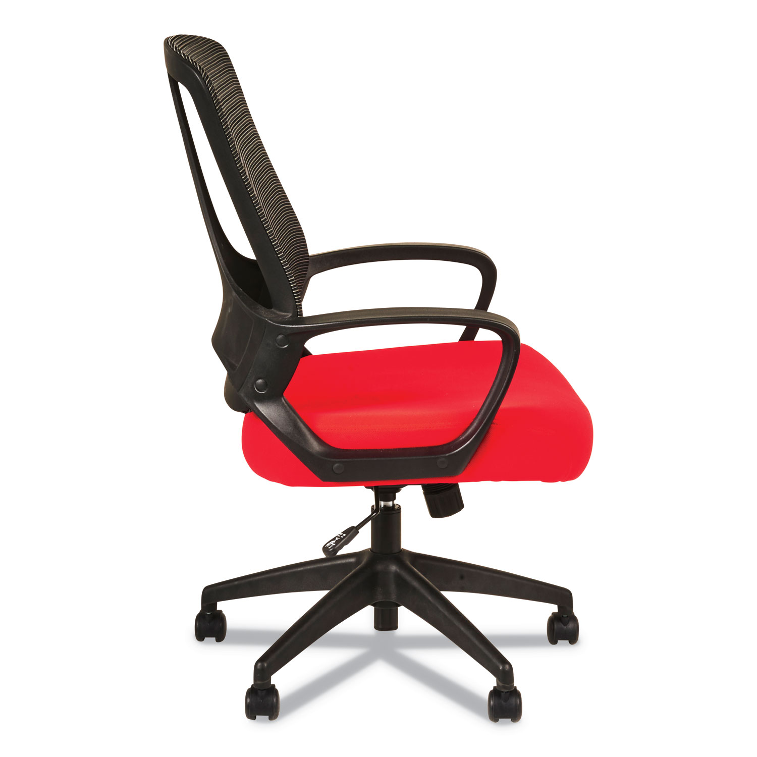 Alera Office Chairs Alera Mb Series Mesh Mid Back Office Chair Red Black Office