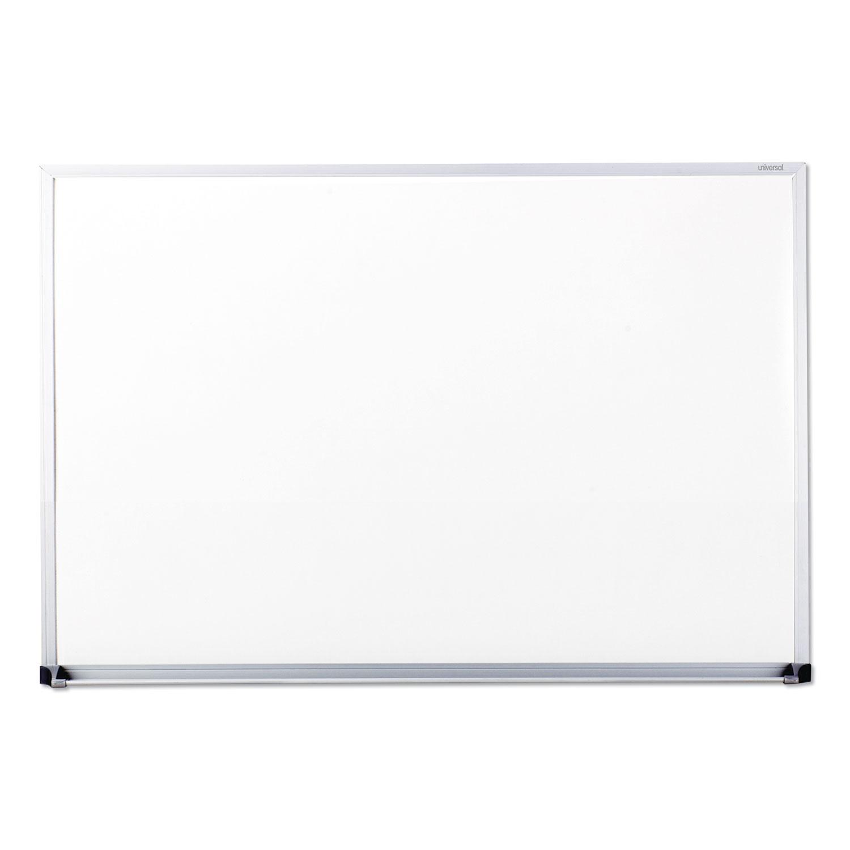 Dry Erase Board, Melamine, 36 x 24, Satin-Finished