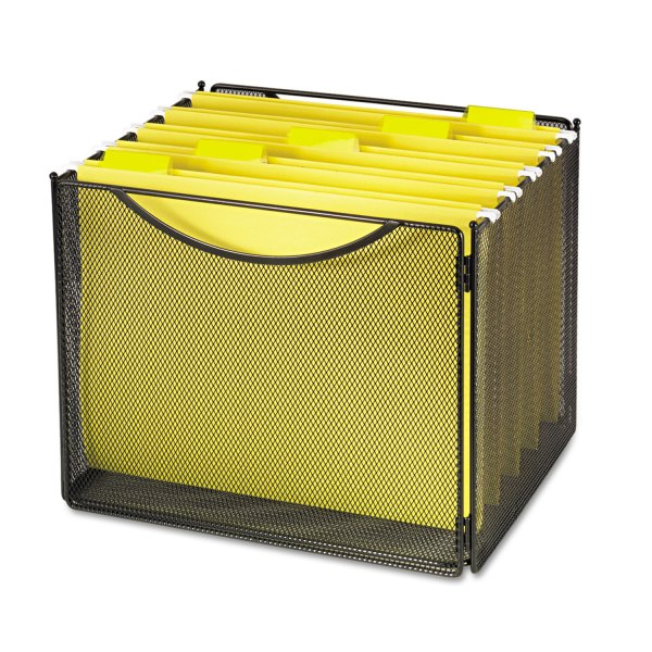 Desktop File Storage Box Safco Saf2170bl
