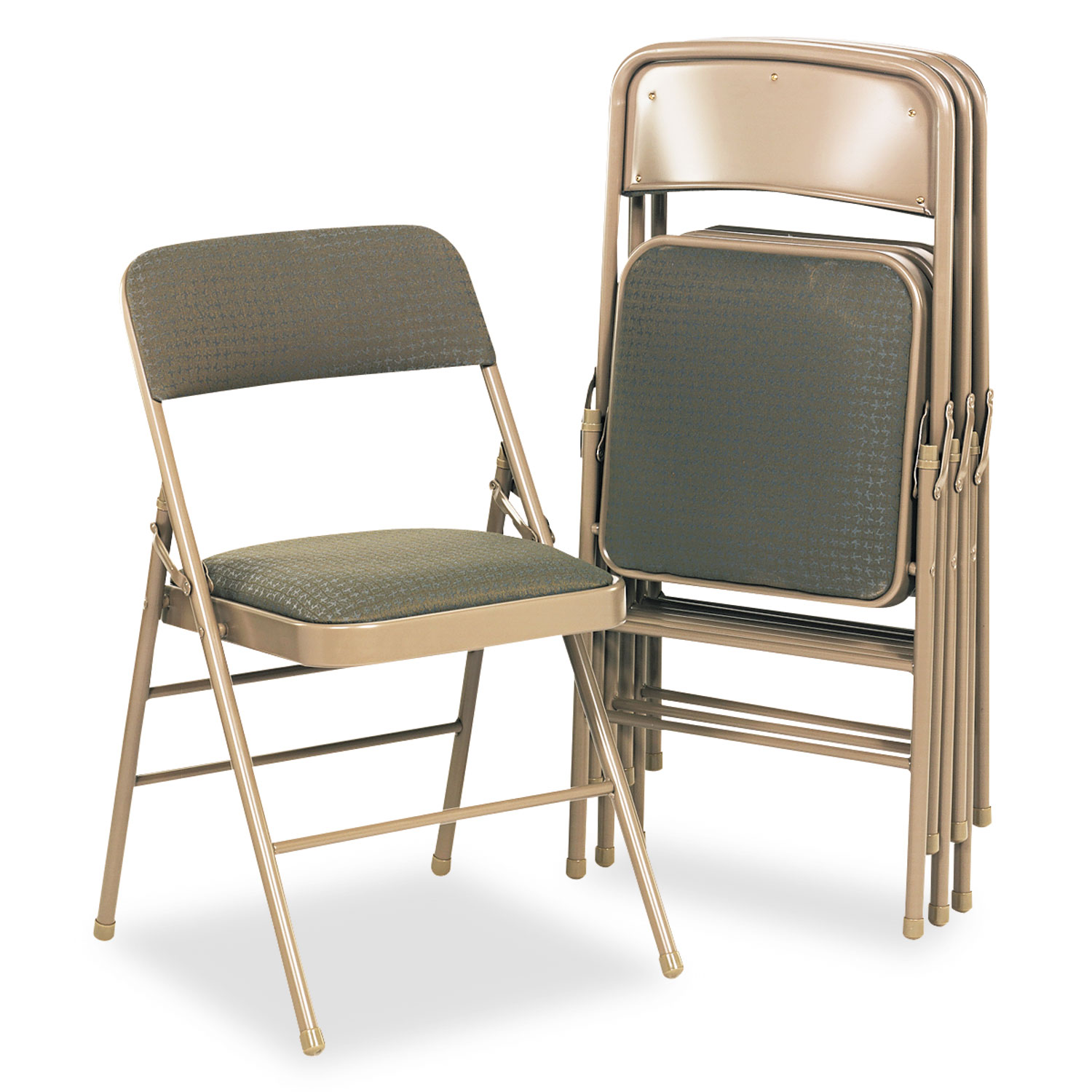 cloth padded folding chairs walmart table and deluxe fabric seat back by cosco