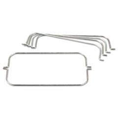 Rubbermaid® Commercial Tri-Wire Waste Bag Holder Kit, For
