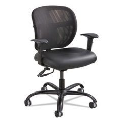Mesh Task Chair Invisible Trick Vue Intensive Use By Safco Saf3397bv Ontimesupplies Com