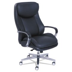 La Z Boy Big Tall Executive Leather Office Chair Black Fire Pit Table And Chairs Set Commercial 2000 By Lzb48968 Ontimesupplies Com
