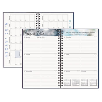 Recycled Academic Weekly/Monthly Appointment Book/Planner
