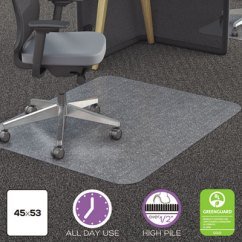Office Chair Mat 45 X 60 Steel Walmart Deflecto Polycarbonate All Day Use Carpet Types 53 Rectangle Cr
