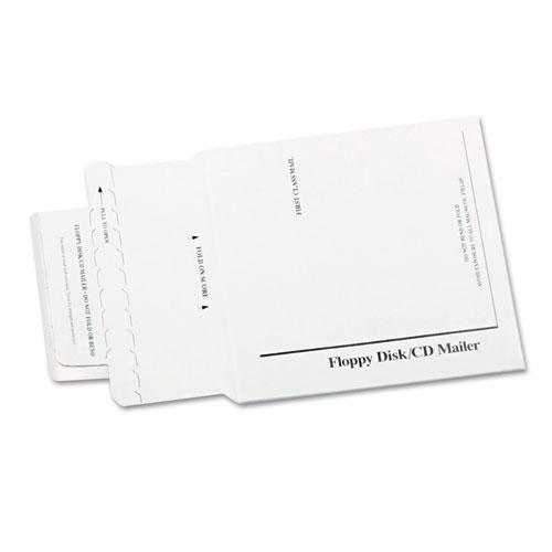DuPont Tyvek Lined Multimedia Mailer, 5 x 5, White, 25/Box