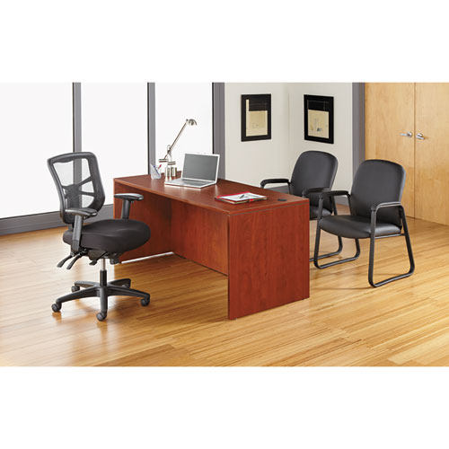 alera elusion series mesh mid back multifunction chair heavy duty office high black aleel41me10b 359 99 ea quantity