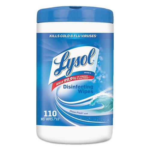 RAC93010 LYSOL Brand Disinfecting Wipes Zuma