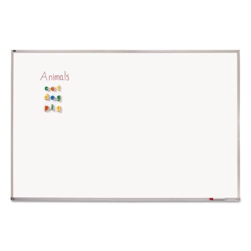 Melamine Whiteboard, Aluminum Frame, 96 x 48