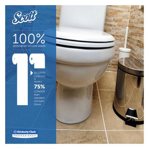 Scott Coreless Bathroom Tissue 2Ply 1000 SheetRoll 36Case  SupplyTimecom