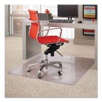 ES Robbins Dimensions Chair Mat for Carpet, Rectangular ...