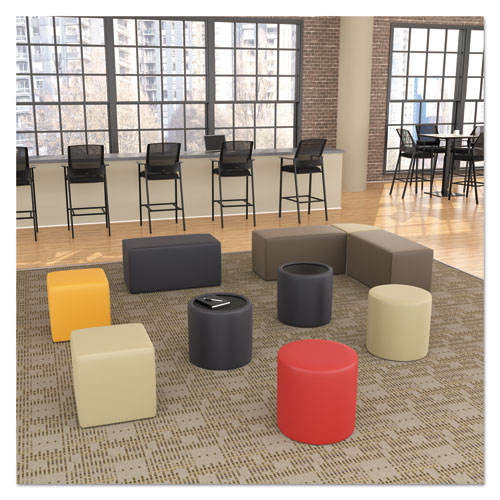 Alera WE Series Collaboration Seating Cube Bench 18 x 18