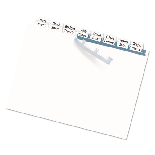 Index Maker Print & Apply Clear Label Double Column