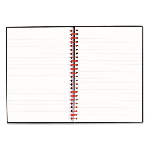Twin Wire Poly Cover Notebook, Legal Rule, 8 1/4 x 5 5/8