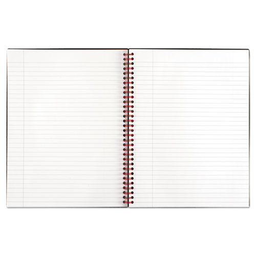 Twin Wire Poly Cover Notebook, Legal Rule, 11 x 8 1/2, 70