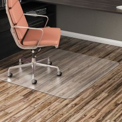 Office Chair Mat 45 X 60 How To Repair Patio Straps Alera All Day Use Non Studded For Hard Floors 46