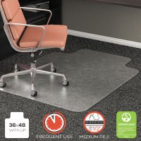 RollaMat Frequent Use Chair Mat for High Pile Carpet, Lip ...