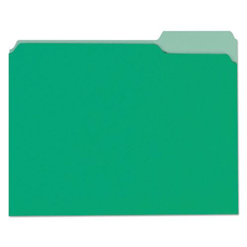 File Folders 13 Cut OnePly Tab Letter GreenLight