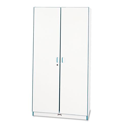Rainbow Accents Deluxe Classroom Closet, 36w x 24d x 72h