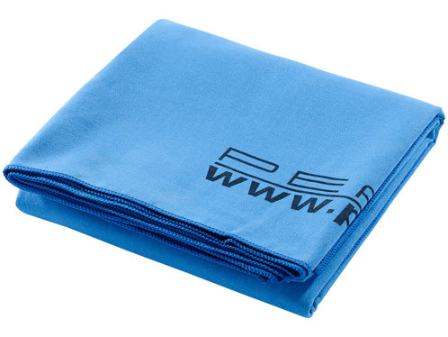 drap de bain microfibre bleu 180 x 90 cm