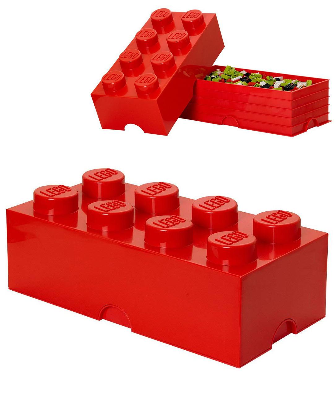 de rangement lego grand modele 8 plots