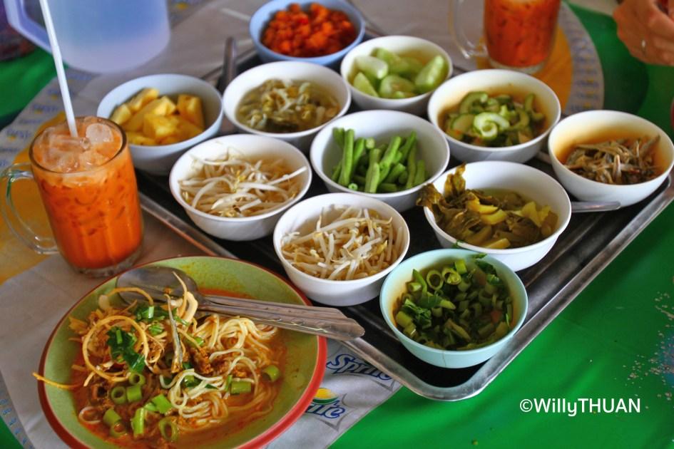 Kanom Jeen in Phuket